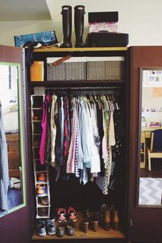 How to organize a small dorm closet closet organization easy ways to save space in your . how to organize a small dorm closet college organizing