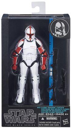 Star Wars Black Series Wave 8 #13 Clone Trooper Captain