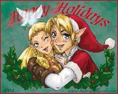 Link Zelda Christmas