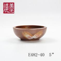 Korean rice bowl&stoneware bowl E482-40  Size: diameter 5 inch
