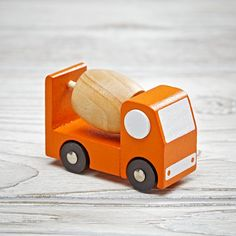 Shop Toy Vehicle (Mixer Truck).  These classic vehicles feature simple and colorful designs making them perfect for imaginary play.  And they're compact enough to be the perfect stocking stuffer.