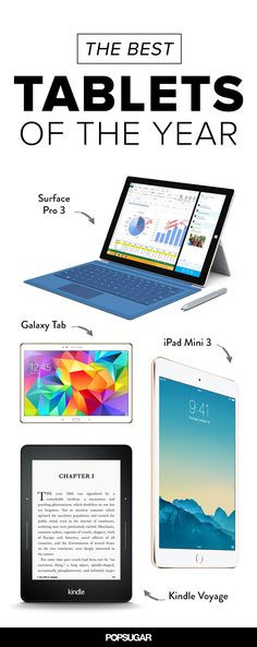 We compare the best tablets of 2014, spec-by-spec!