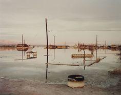 Richard Misrach, Submerged House Foundation, Salton Sea