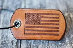 Custom Leather Dog Tags-Vvego http://www.vvego.com/product/custom-leather-dog-tags/