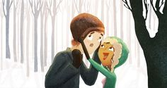 Wonderful Illustrations Capture The Sweet Moments Spent With The One You Love 9
