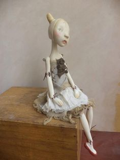 Ara Clay Doll art doll by Petuqui on Etsy