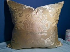 GORGEOUS SILK WOVEN BROCADE; LEE JOFA SHAYLA SILK, Custom Made Pillow in Collectibles | eBay