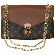 In deep deep love with this bag-louis vuitton chain shoulder bag- Alma and SC…