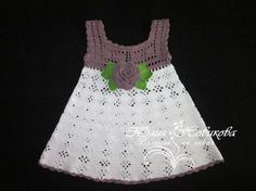 Click to view pattern for - Crochet baby dress