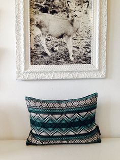 Decorative Throw Pillow Cover 13x18 Lumbar by sheshappydesign, $40.00