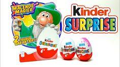 4 Kinder Surprise Egg Set with Toys