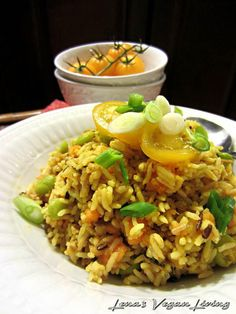 BOMBAY RICE Curry Rice with Sweet Potato & Lima Beans   Vegan, Gluten free Lena's Vegan Living
