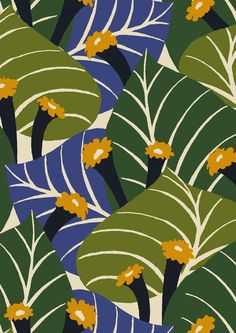 #minakani #flowers #leaf #exotic #tropical #hawaii #tiki #pattern