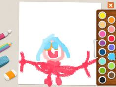 """""""Doll"""" - Julia (age 5). #coloring #pages #memollow - #app for #kids"""