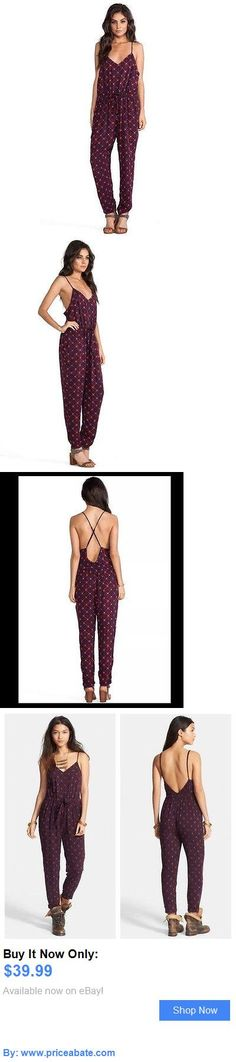 Jumpsuits And Rompers: Free People Sunset Romper Jumpsuit Size M Boho Chic BUY IT NOW ONLY: $39.99 #priceabateJumpsuitsAndRompers OR #priceabate