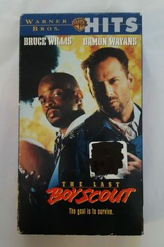 The Last Boy Scout (VHS, 1998) Bruce Willis, Damon Wayans in DVDs & Movies, VHS Tapes | eBay