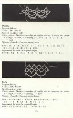 Tatting Patterns and designs - Lada - Picasa Albums Web