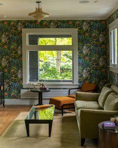 Helvetica Neue, New Living Room, End Tables, Valance Curtains, Craftsman, Seattle, Hardwood Floors, Ottoman, Backyard