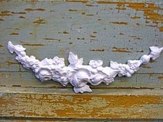 SHABBY & CHIC ROSE SWAG * FURNITURE APPLIQUES * RESIN * $5.95 NO LIMIT SHIPPING! #doityourselfChic