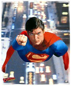 Superman (The Movie) Photo: Gift of Flight Superman Pictures, Superman Artwork, Superman Movies, Dc Movies, Superhero Movies, Supergirl Superman, My Superman, Super Hero Activities, Christopher Reeve Superman