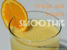 Smoothie de naranja y plátano | Cocina