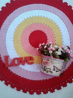 Crochet Borders, Cushions, Rugs, Birthday, Drop Cloth Rug, Crochet Blankets, Bedspreads, Crochet Rugs, Jewelry Making