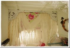 idea for curtain framing