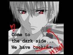 Zero Kiryu from vampire knight, who else wants to join the dark side? ✋