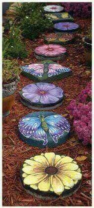 ☮ American Hippie Bohéme Boho Lifestyle ☮ Colorful Garden