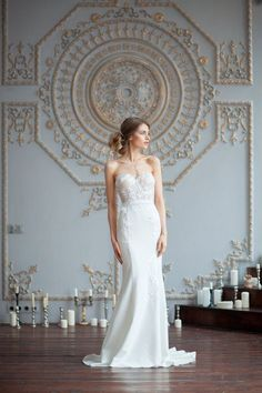 Kristin / Mermaid wedding dress / Sexy wedding dress / Low #weddingdress