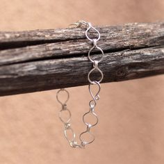 Hey, I found this really awesome Etsy listing at https://www.etsy.com/listing/200563066/sterling-silver-omega-chain-bracelet