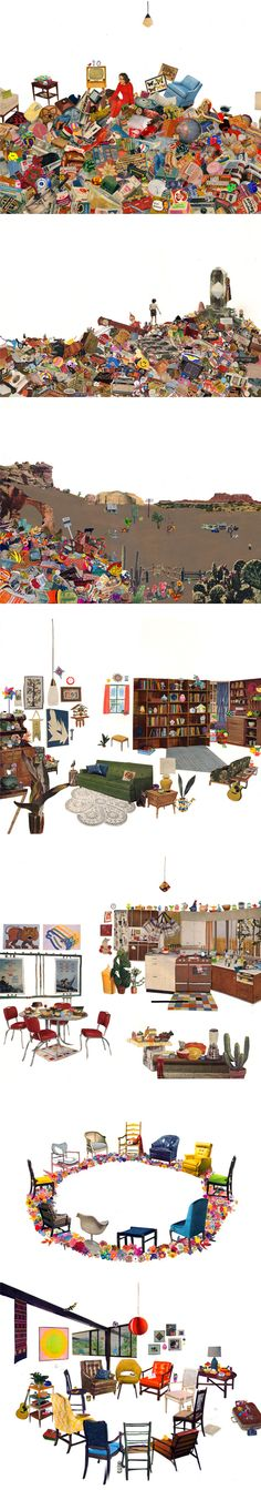 jessalynaaland collage on the jealous curator blog.