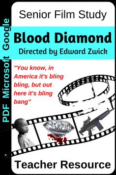 A complete teaching resource with over 100 pages of teacher notes, key scene analyses, student response journal, background research project and more.  Google docs allow students to complete work online. Blood Diamond Film, Film Studies, Media Studies, Elements Of Literature, Modern Classroom, Teacher Notes, Google Docs, Research Projects, Student Teaching