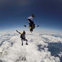 The Soul Flyers skydiving 10000m high