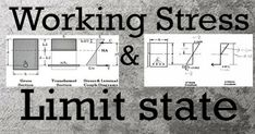 Working Stress Method Limit State Method This method is based on the elastic theory which assumes that concrete and steel are elastic and the stress strain curve is linear for … Civil Engineering Works, Construction Cost, Work Stress, Civilization, It Works, Diagram, Theory, Concrete, Steel