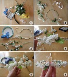 Tomorrowland: DIY flowercrown