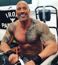 The Rock Dwayne Johnson, Rock Johnson, Dwayne The Rock, The Rock Tatoo, Bodybuilder, Wwe, Fitness Gym, Fit Board Workouts, Workout Board