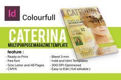 CATERINA MAGAZINE by Orlin on @creativemarket