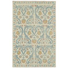 Bungalow Rose Habous Hand-Tufted Teal Area Rug & Reviews | Wayfair