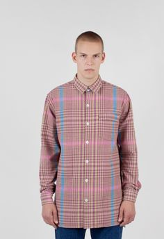 Our Legacy Shirt Coat 1972 Tartan Check – Voo Store Tartan, Plaid, Our Legacy, Stockholm, Berlin, Shirt Dress, Store, Coat, Check