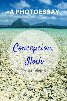 Discover the hidden beauty of Concepcion, Iloilo in the Philippines' Visayan Region. Composed of 16 islands, this town is relatively not YET frequented by tourists.