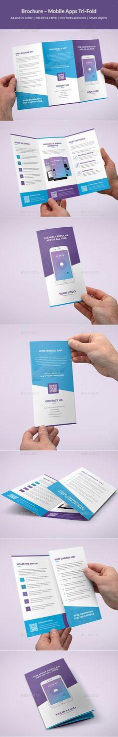 Brochure – Mobile Apps Tri-Fold - Informational Brochures Download here: https://graphicriver.net/item/brochure-mobile-apps-trifold/20112402?ref=classicdesignp