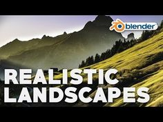 Easy Realistic Terrain (Part 1 - ANT Landscapes) Blender 3d, How To Use Blender, Animation Stop Motion, 3d Animation, Wolverine Poster, Blender Tutorial, Robot Technology, 3d Tutorial, Unreal Engine