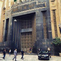 Banco de Sao Paulo building - Sao Paulo, Brazil