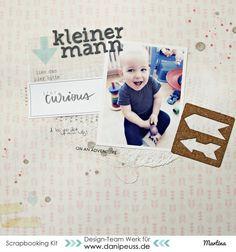 Layout mit dem #dpJanuarkit15 von Martina für www.danipeuss.de