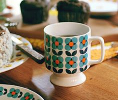 Floral mug from Common Kitchen