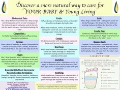 For my friends with kiddos - Young Living Essential Oils: Baby