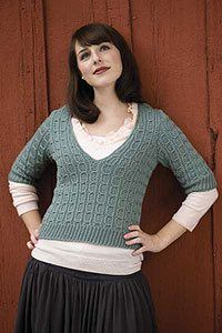 The faux cables in this crochet sweater are genius! Luna Sweater by Kim Guzman