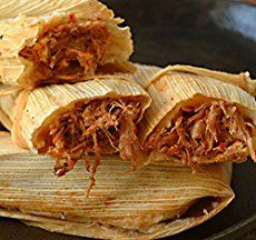 New Mexico Red Pork Tamales, with Free Red and Green Chile Sauce: Masa, shredded pork and New Mexico red chile sauce. Our seller. Serve with guacamole, beans and a cold beer. Corn Tamales, Chicken Tamales, Mexican Dishes, Mexican Food Recipes, Ethnic Recipes, Mexican Cooking, Shredded Beef Tamales Recipe, Shredded Pork, How To Make Tamales