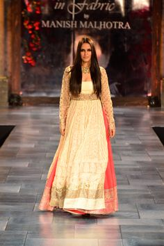 Is it an anarkali or a lehenga? from Mijwan Charity Show by Manish Malhotra via @AainaBridal
